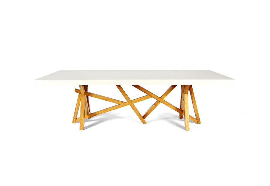 Fusion dinning table